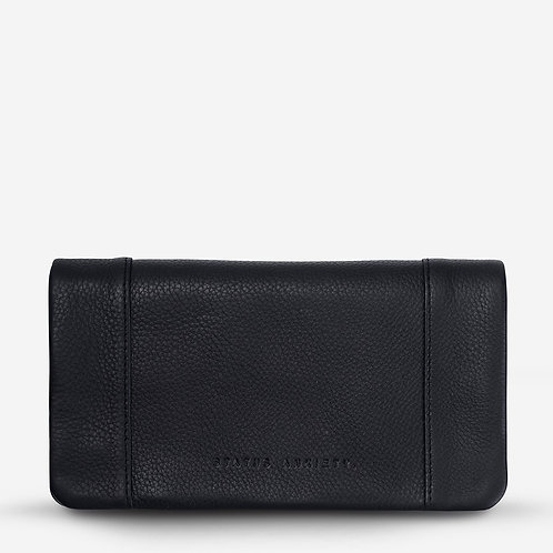 Status Anxiety Some Type of Love Women's Wallet Black