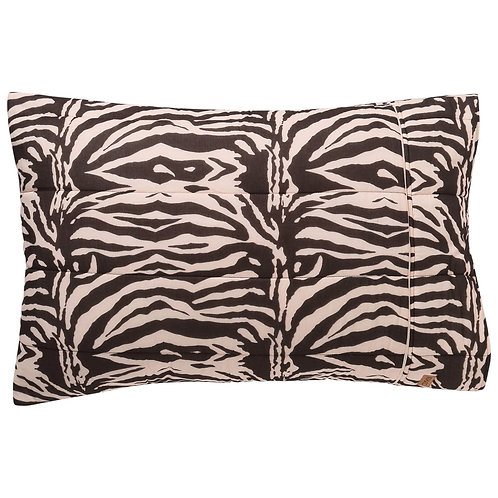 Kip and Co Zebra Crossing Quilted Pillowcase Set