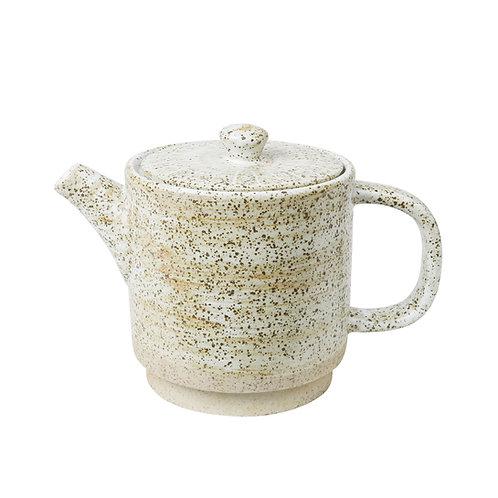 White Ceylon Teapot by Robert Gordon