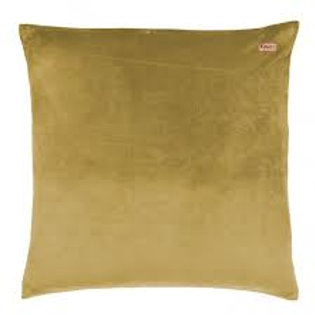 Kip & Co Burnished Gold Velvet Euro Sham Pillowcase