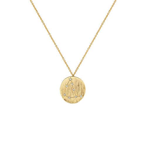 Zahar Zodiac Necklace Capricorn