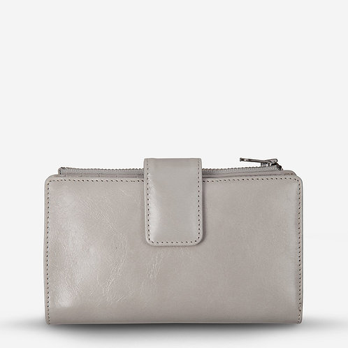 Status Anxiety Outsider Women's Wallet Light Grey
