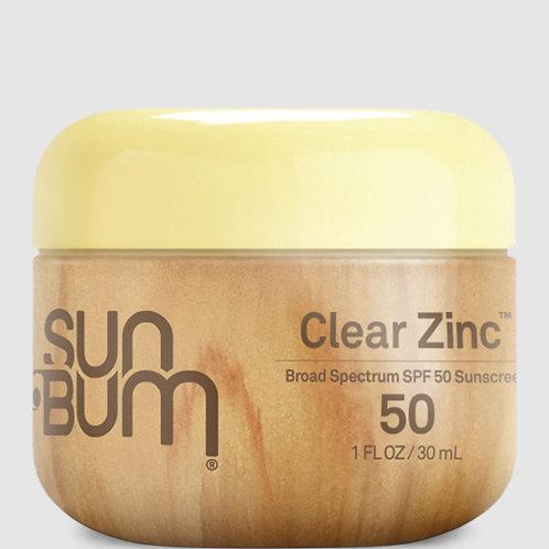 Sun Bum SPF50 Clear Zinc 30ml