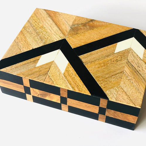 Timber trinket box