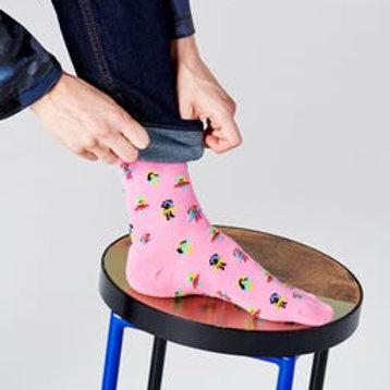 Happy Socks Pink Hula Socks