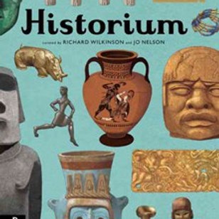 Historium HardCover Book by Jo Nelson and Richard Wilkinson