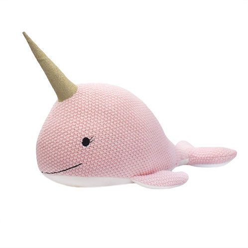 Nellie the Narwhal Soft Toy 30cm