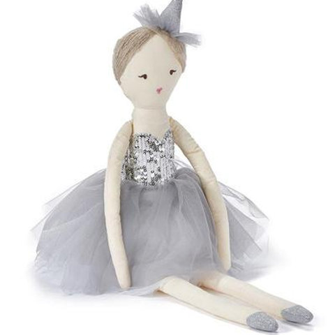 Princess Silver or Pink 50cm Doll