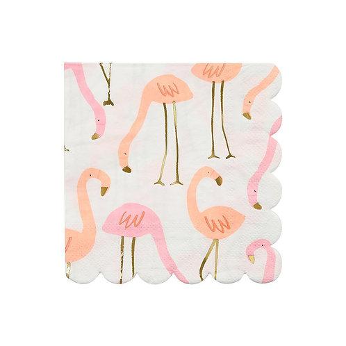 Meri Meri Small Flamingo Napkins Pack of 16