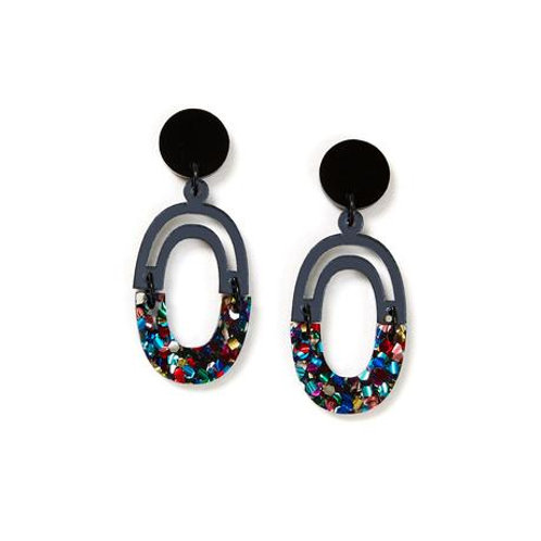 Martha Jean Link Earrings Disco
