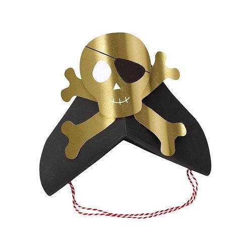 Meri Meri Pirates Bounty Party Hats Pack of 8