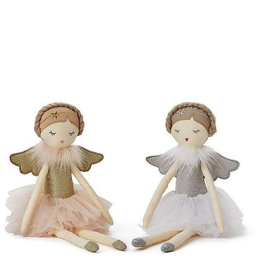 Fairy Doll in Pink or White 54cm