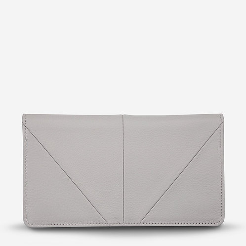 Status Anxiety Triple Threat Women's Wallet Light Grey