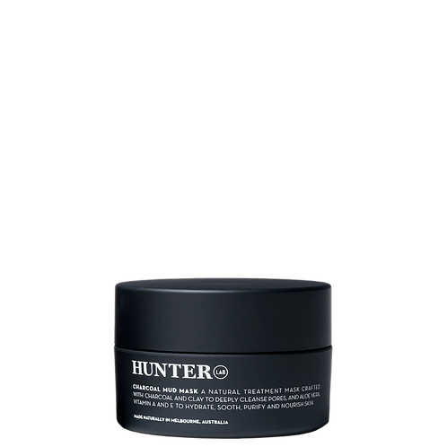 Hunter Lab Natural Charcoal Mud Mask 65g