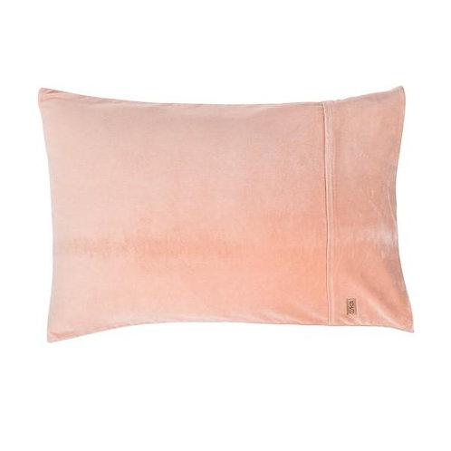 Kip & Co Peach Crumble Velvet Pillowcases 2P Set