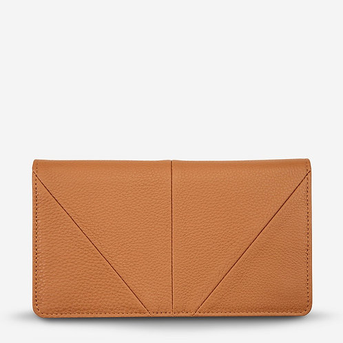 Status Anxiety Triple Threat Women's Wallet Tan
