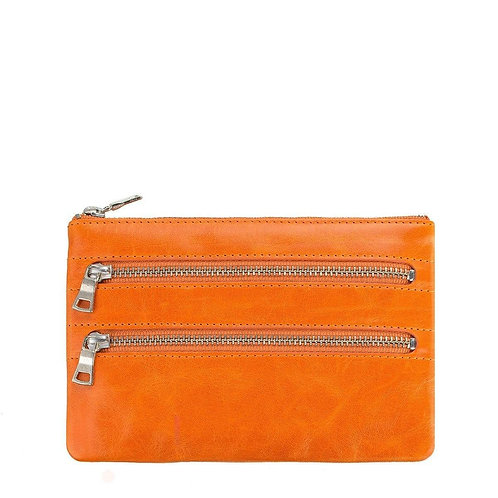 Status Anxiety Molly Wallet Burnt Orange