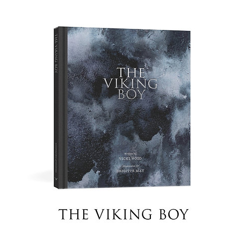 The Viking Boy by Vicki Wood and Brigitte May HardCover