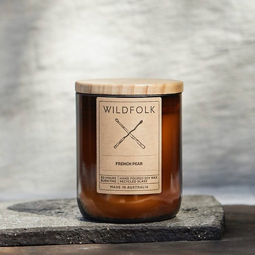 Wildfolk Soy Wax Candle 240g 50+ hour burn