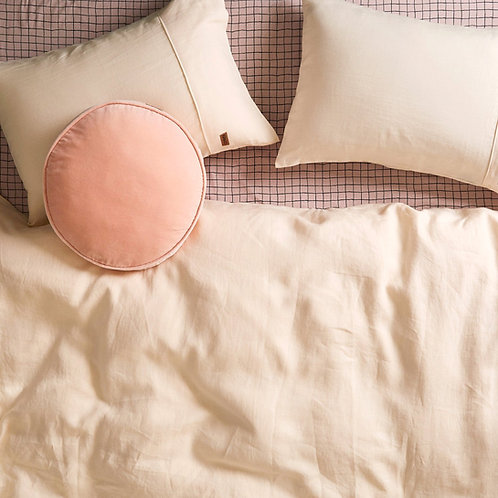Kip & Co Coconut Linen Pillowcases 2P Set