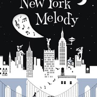 New York Melody by Helene Druvert HardCover