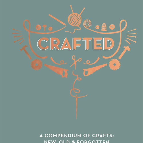 Crafted by Sally Coulthard HardCover