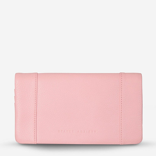 Status Anxiety Some Type of Love Women's Wallet Soft Pink