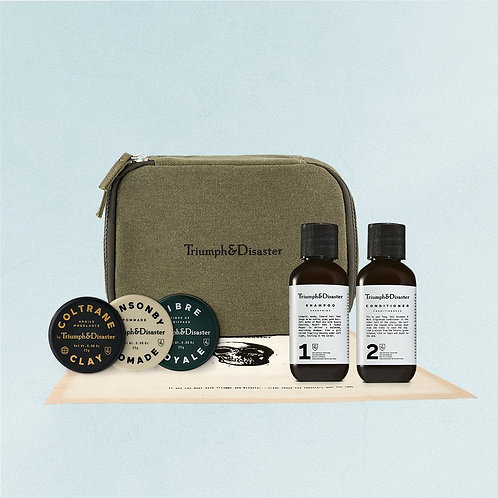 Triumph and Disaster Road Less Travelled Hair Care Travel Kit