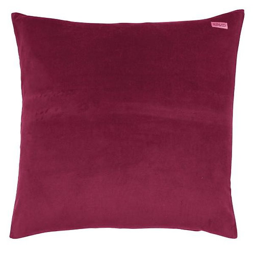 Kip & Co Peony Rose Pink Velvet Euro Sham Pillowcase