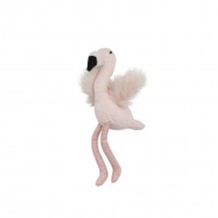 Pink Flamingo Toy Rattle 28cm