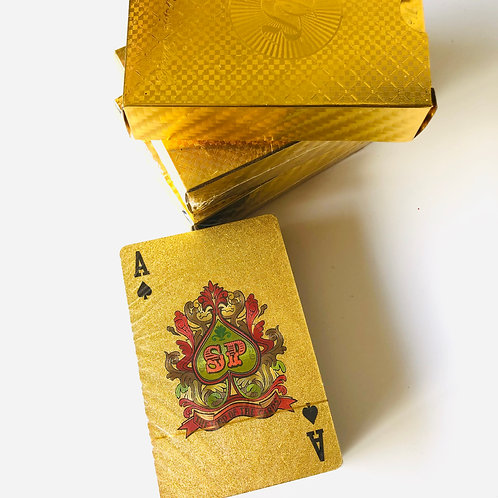 Gold deck of cards
