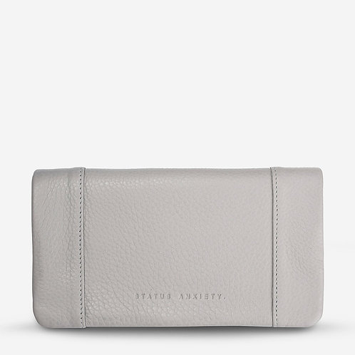 Status Anxiety Some Type of Love Women's Wallet Cement Grey