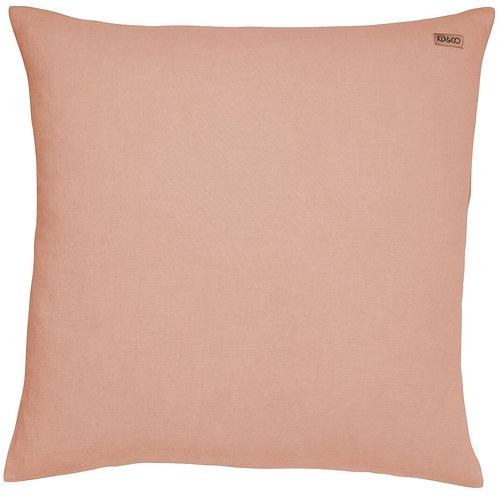 Kip and Co Peach Nougat Linen Euro Pillowcase