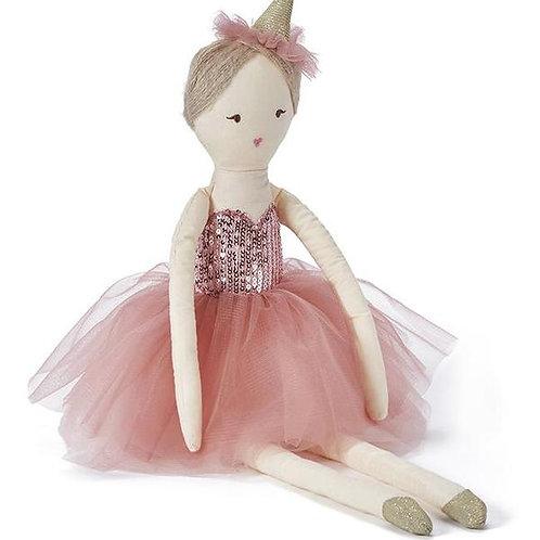 Princess Silver or Pink Mini Doll 25cm