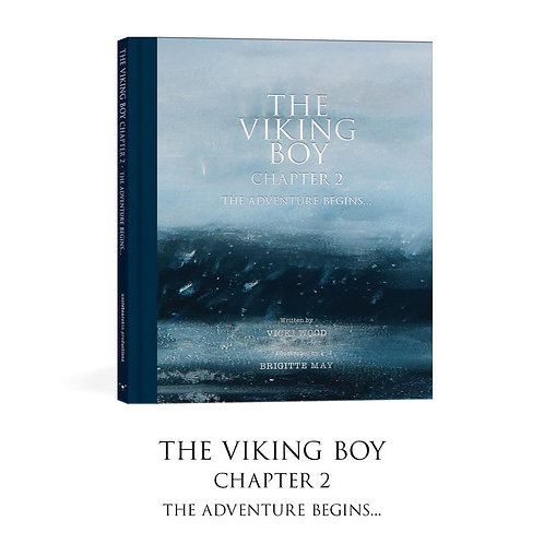 The Viking Boy Chapter II by Vicki Wood and Brigitte May HardCover