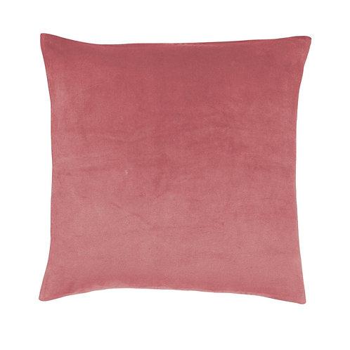 Kip & Co Dusty Pink Velvet Euro Pillocase