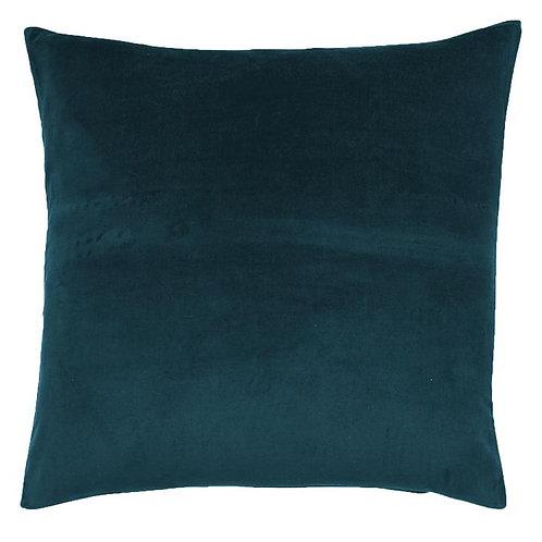 Kip & Co Green Sea Velvet Euro Sham Pillowcase