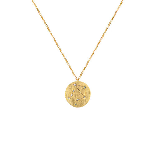 Zahar Zodiac Necklace Libra