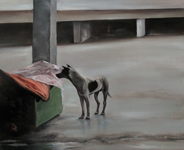 Ravenswood Art Prize. Malay Stray. Michelle Dawson