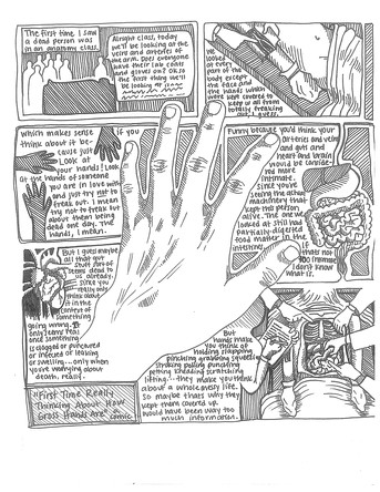 """Comic: """"First Time Really Thinking About How Gross Hands Are"""""""