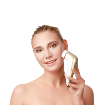 use our facial cleansing brush to clean your face