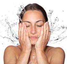 wash and rinse your face after done using our facial cleansing brush