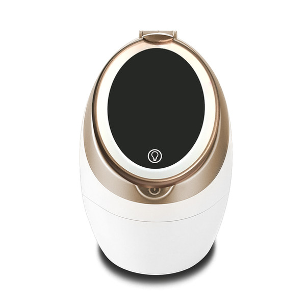 This is a facial steamer for you to steam your face to open pores. so better absorption for the skin care that follows.