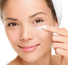 Apply eye cream before using the eye massager