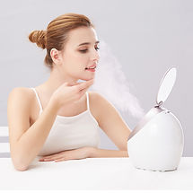 steam your face with our odorless steamer for better result