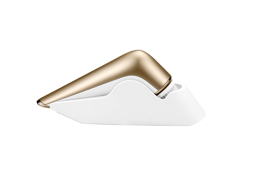 This is a wireless charge facial cleansing bursh, it can blends makeup and deep cleanse your face and exfoliate skin. It is a elctronic face brush that fits all type of skin.
