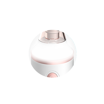 This microdermabrasion tool has LED lighting feature so you can see better when you use it