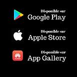 logo des app stores connus
