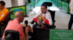 David Smith Boccia Gold Rio 2016