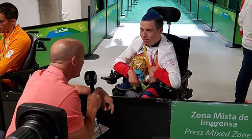 David Smith Boccia Gold Rio 2016